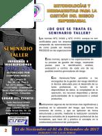 Seminario Taller Metodologías y Herramientas Para La Gestión Del Riesgo Empresarial
