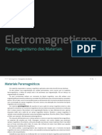 Paramagnetismo Dos Materiais