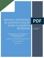 Ventajas y Desventajas Estructuras Metalicas