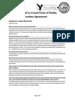 Agreement Faq