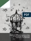 Desarrollo Del Pensamiento Critico en Estudiantes de Educación Superior Del Salvador