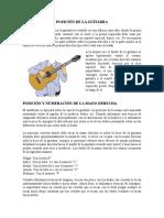 POSICIÓN DE LA GUITARRA.doc