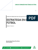 Documento Estrategia en El Fútbol