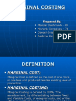 Marginal Costing Ppt
