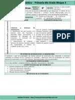 Plan 6to Grado - Bloque 3 Matemáticas (2016-2017)