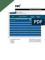 Matriz de Responsabilidades - Plantilla Con Ejemplo