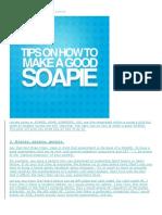 Soapei Tips