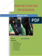Proyecto de Inversion Dreamdive