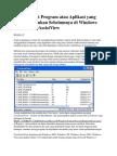 Cara melihat Program atau Aplikasi yang Telah diJalankan Sebelumnya di Windows dengan UserAssistView.docx