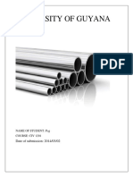 Steel Civ1201 Assignment