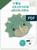 Alfombra Triceratops