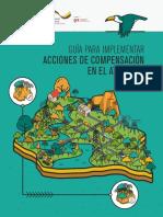 Guía para implementar acciones de compensación en el Atlántico