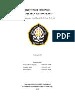Resume Bab 5 Penilaian Risiko Fraud