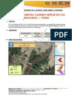 PIURA - Piura (Piura) - Morropon (Chulucanas) Incendio Forestal (Reporte Complementario)