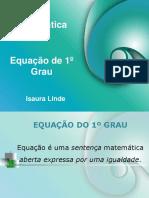 Equacao 1 Grau