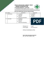 7.1.3.4 Persyaratan Kompetensi Petugas Pendaftaran