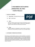 Planta de Tratamiento de Efluentes 2