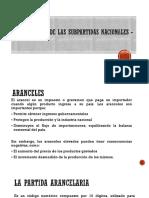 Clasificacion de Las Subpartidas Nacionales - Arancelaria