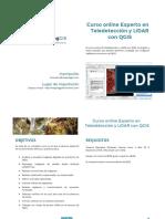 MappingGIS Programa Curso Teledetección y LiDAR Con QGIS