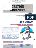 Unidad i ... El Sistema Aduanero Peruano