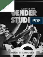 Gender Studies Capsule 2015