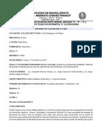 Informe Del Taller Impartido a Pp Ff de 2º y 3.