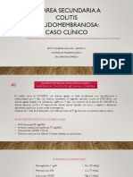 Caso Clínico Diarrea - Grupo 10 - Betsy Figueroa
