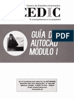 Guía AutoCAD Modulo I
