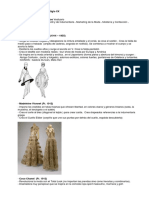 La Moda en la Historia del Siglo XX