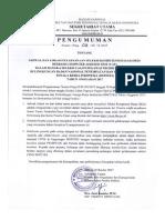 Pengumuman Jadwal SKD CAT BNP2TKI