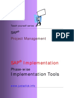 SAP 004 Phase Wise Implementation Tools