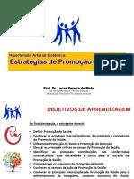 Aula - Estratégias de Promoção Da Saúde Na HAS