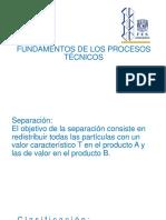 Fundamentos de Los Procesos Técnicosaglomeracion 1