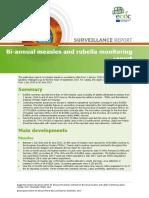 Bi Annual Measles Rubella Monitoring OCT 2017
