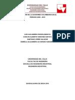 Primer Informe - Macroeconomía