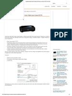 Cara Memperbaiki Hasil Print Tabel Garis Tidak Lurus Canon IP2770