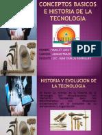Conceptos Basicos e Historia de La Tecnologia