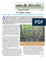 Summer- Fall 2008 South Carolina Environmental Law Project Newsletter