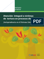 Jurisprudencia en El Sistema Interamericano