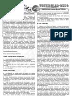Geografia - Pré-Vestibular Impacto - Formação Histórico Territorial Brasileira - Exercícios II