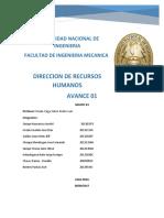 Trabajo Recursos Humanos