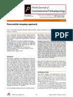 Pancreatic Imaging Study