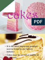 Cakes Types