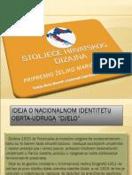 3.Ideja o Nacionalnom Identitetu Obrta-udruga