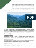Servicios Ecosistémicos - Servicio Nacional de Áreas Naturales Protegidas Por El Estado