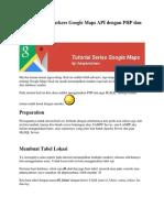 Menampilkan Markers Google Maps API Dengan PHP Dan MySQL