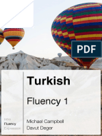Glossika - Turkish/English, Fluence 1
