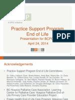 4. End of Life BCPGA Presentation Dr. Sze