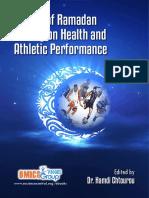 Ramadan Fasting Sport Performance