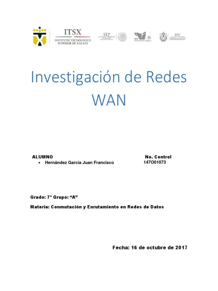 Wan y Características Principales de Una Wan